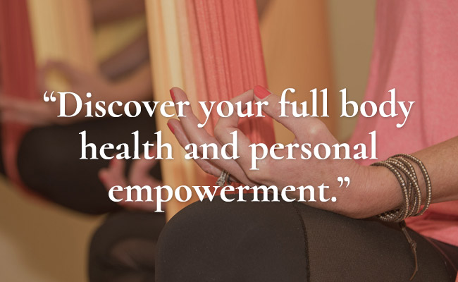 Discover your full body health and personal empowerment